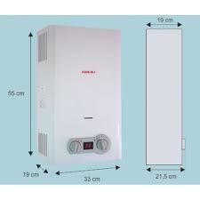 Calentador de agua a gas de 10 litros forcali modelo fwh - Calentador 11 litros ...